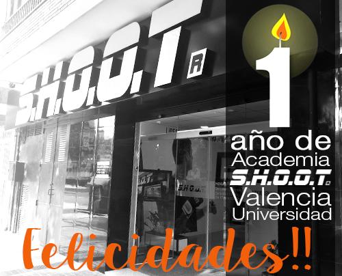 1 año de Academia SHOOT Valencia Universidad