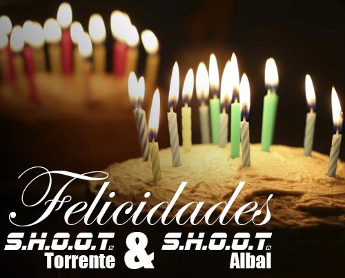 Aniversario SHOOT Torrente y SHOOT Albal