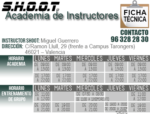 Ficha técnica - Academia de Instructores