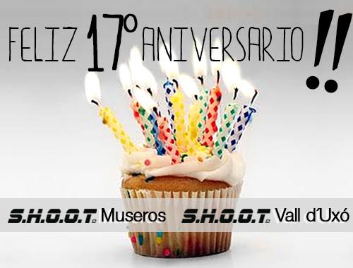 Aniversario SHOOT Museros y SHOOT Vall d´Uxó