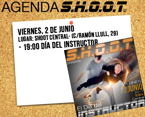 Agenda SHOOT - junio 2017