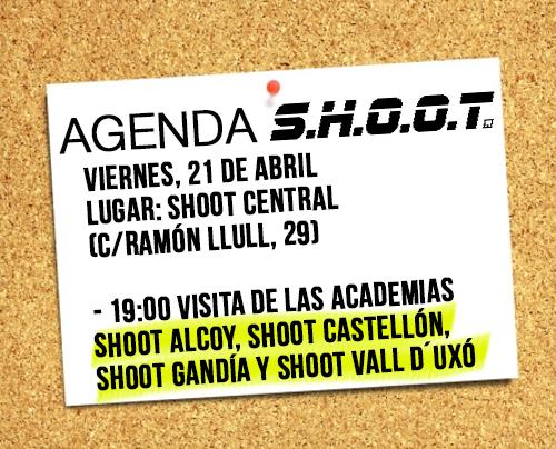 Agenda SHOOT - Mayo