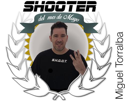 Shooter del mes - mayo