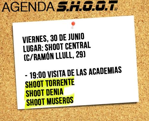 Agenda SHOOT - junio 2017