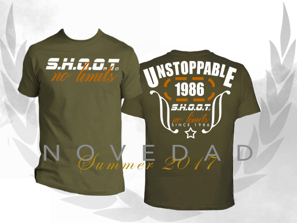 Camiseta SHOOT - unstoppable